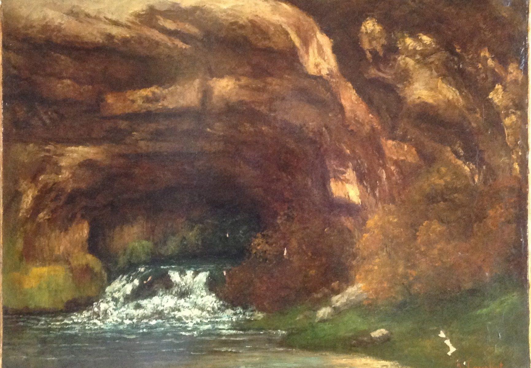 Gustave Courbet La Source Huile sur toile