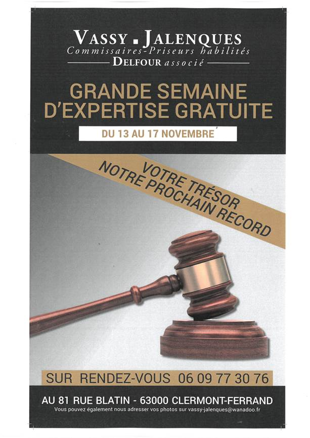 Semaine d expertise clermont ferrand cabinet mar chaux - Cabinet ophtalmologie clermont ferrand ...